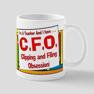 CFO! (Red) Mug