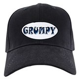 Grumpy Baseball Cap with Patch