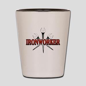 Ironworker Shot Glass