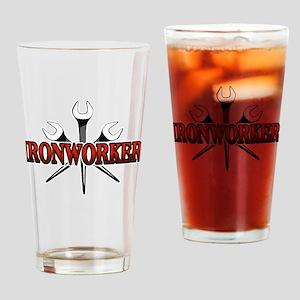 Ironworker Drinking Glass