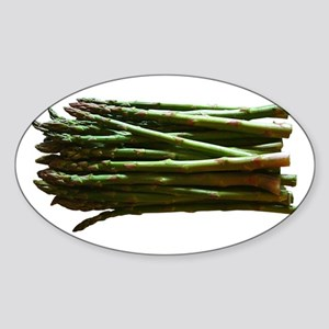 Asparagus Oval Sticker