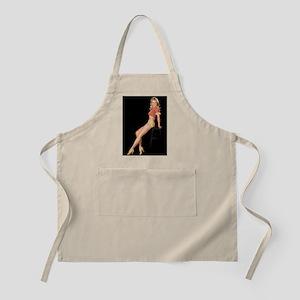 Stool Girl BBQ Apron