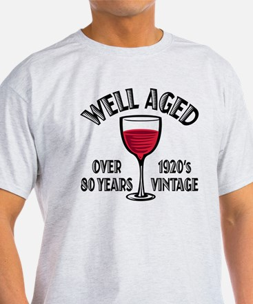 Over 80th Birthday T-Shirt