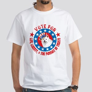 Vote for Eskie White T-Shirt