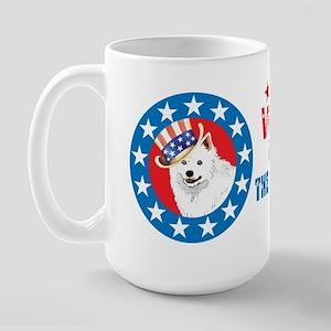 Vote for Eskie Large Mug