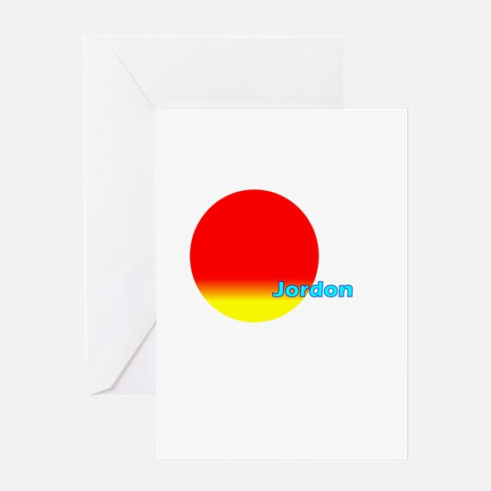 Jordon Greeting Card