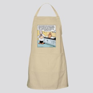 Gingerbread Doctor Diagnosis BBQ Apron