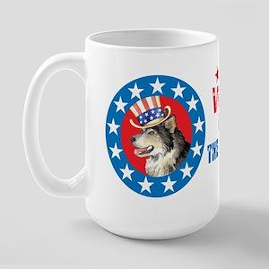 Vote for Malemute Large Mug