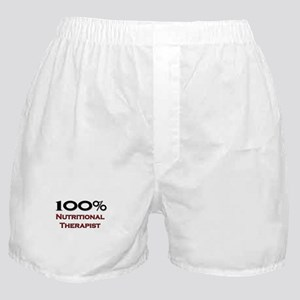 100 Percent Nutritional Therapist Boxer Shorts