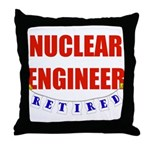 Retired Nuclear Engineer Throw Pillow