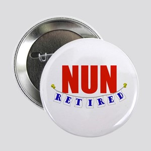 "Retired Nun 2.25"" Button"
