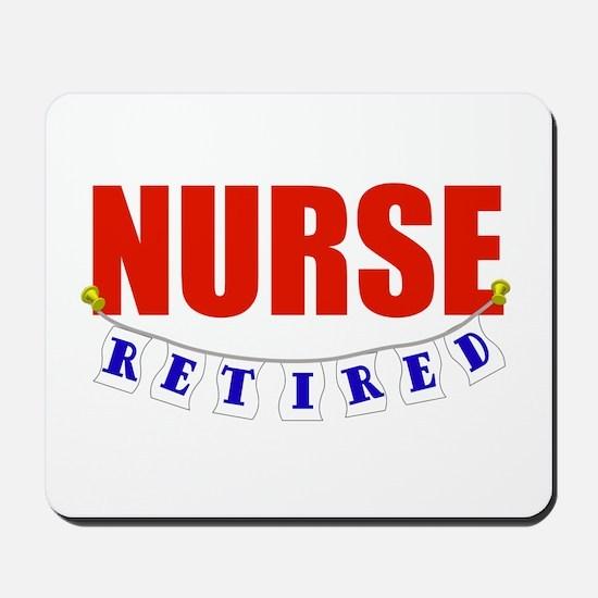 Retired Nurse Mousepad