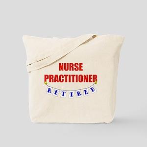 Retired Nurse Practitioner Tote Bag