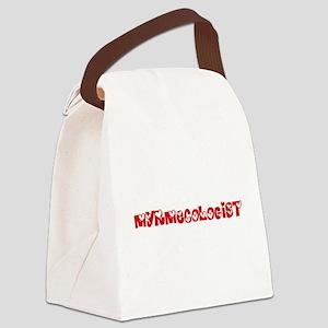 Myrmecologist Profession Heart De Canvas Lunch Bag