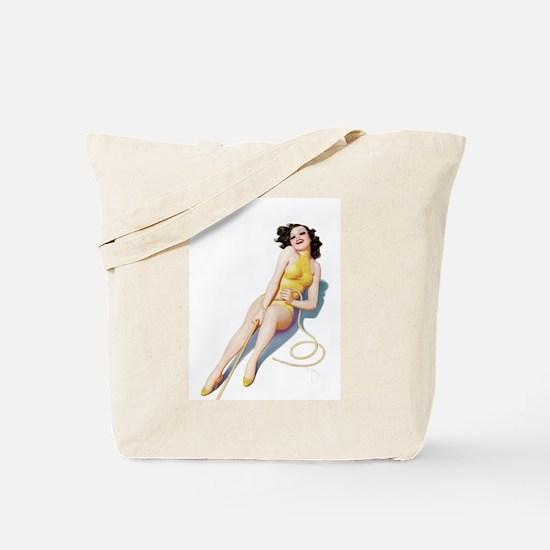 Rope Girl Tote Bag