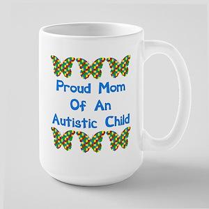 Proud Mom Large Mug