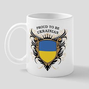 Proud to be Ukrainian Mug