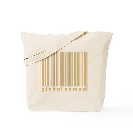 Global Nomad Brown World Culture Tote Bag