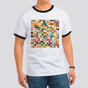 Random Color Blocks Ringer T