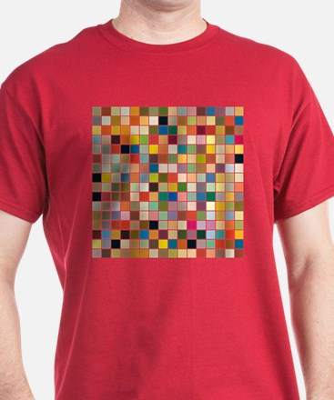 Random Color Blocks T-Shirt