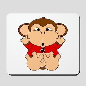 Four Year Old Monkey Mousepad