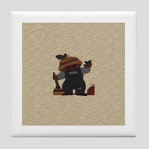 Scarecrow Quilt Tile Coaster