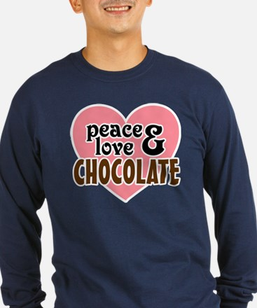 Peace Love Chocolate T