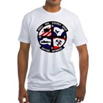 MOBILE MINE ASSEMBLY GROUP Fitted T-Shirt