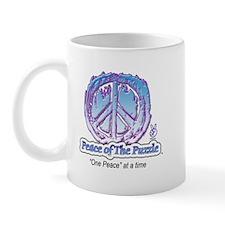 Peace Puzzle Logo 1 Mug