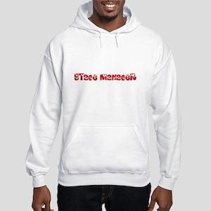 Stage Manager Profession Heart Design Sweatshirt