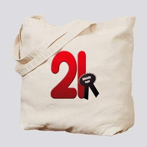 21 officially legal Tote Bag