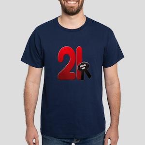 21 officially legal Dark T-Shirt