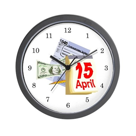 IRS Wall Clock