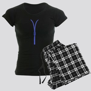 Zipper Look Pajamas