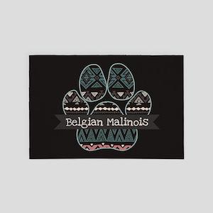 Belgian Malinois 4' x 6' Rug