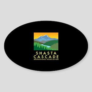 SCWA Oval Sticker