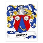 Milner Family Crest Small Poster