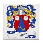 Milner Family Crest Tile Coaster