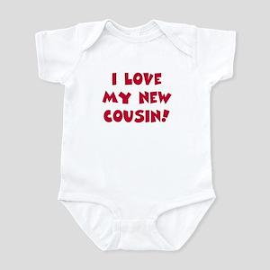 Love my new cousin Infant Bodysuit