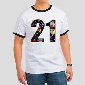 21st birthday Ringer T