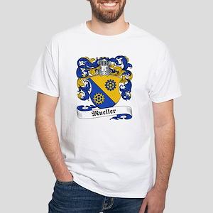 Mueller Family Crest White T-Shirt