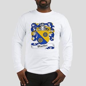 Mueller Family Crest Long Sleeve T-Shirt