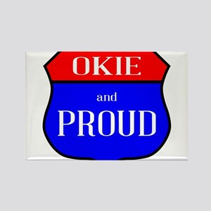 Okie And Proud Magnets