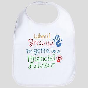 Future Financial Advisor Baby Bib