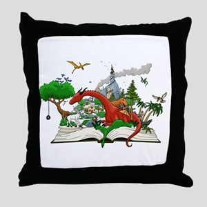 Reading is Fantastic! Throw Pillow