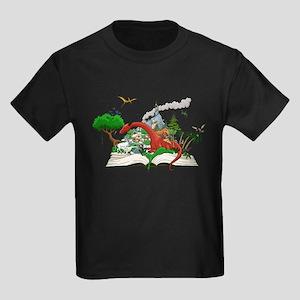 Reading is Fantastic! Kids Dark T-Shirt