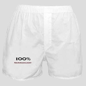 100 Percent Neuroradiologist Boxer Shorts