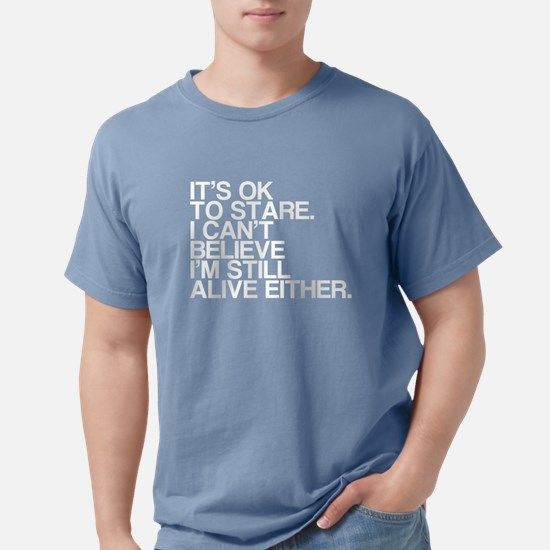 Old, OK To Stare, Funny Women's Dark T-Shirt