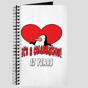 13th Celebration Journal