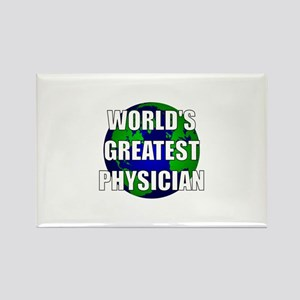 World's Greatest Physician Rectangle Magnet